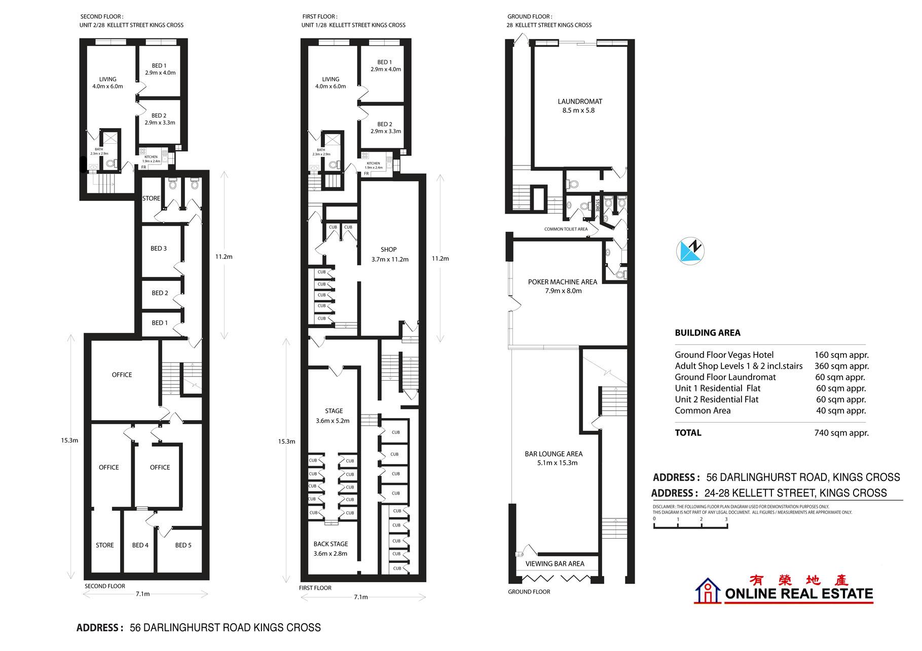 Floorplan 58 Darlinghurst rd